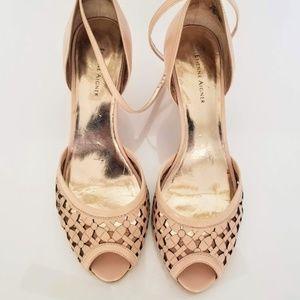 Etienne Aigner Strappy High Heels Sandals